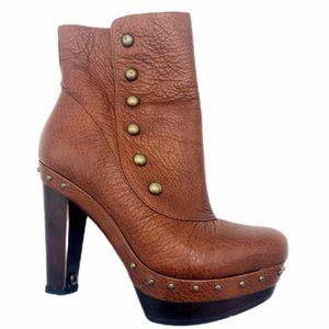 UGG Cosima Studded Heeled Ankle Boot SZ 7.5